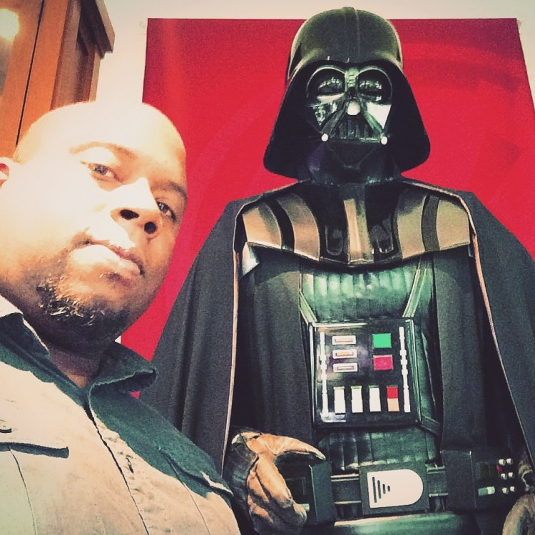 w/ Lord Vader